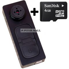 Key Button Camera Mini HD DVR DV Digital Camcorder Video Small Security -06