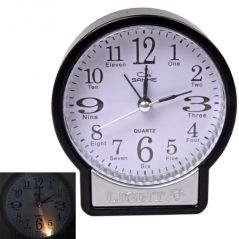 Details about Exclusive Fashionable Table Wall Desk Clock Watches with Alarm Gift (Code - AL CK 233)