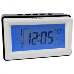 Voice Sound Control Projection Alarm Table Clock Calendar Thermometer Timer (Code - AL CK 241)
