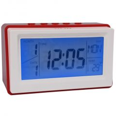 Voice Sound Control Projection Alarm Table Clock Calendar Thermometer Timer (Code - AL CK 242)