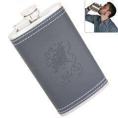 06 Oz STAINLESS STEEL Drinks Hip Pocket Wine Flask Screw Cap - 25