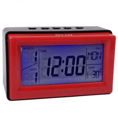 Voice Sound Control Projection Alarm Table Clock Calendar Thermometer Timer (Code - AL CK 250)