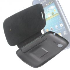 Leather Back Case Cover Flip Pouch For Samsung Galaxy Neo S5312 - FS01
