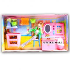 Barbie Doll Set With Beautiful Trendy Dresses Kids Toys Toy Baby Gift 34