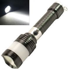 3 Mode CREE ZOOMABLE Rechargeable LED Waterproof Flash Light Torch - 52