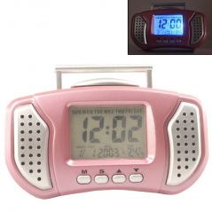DIGITAL LCD ALARM TABLE DESK CAR Calendar CLOCK with Temperature - A31