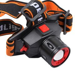 RECHARGEABLE ZOOMABLE CREE LED Headlight Head lamp light Torch Flashlight (Code - JM HD LP 30)