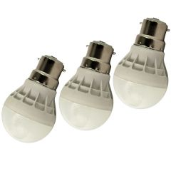 3Pcs 3w High Power Led Bulb For Pure White Cool Safe Light (Code - LD LT 01 A)