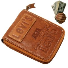 Mens Leather Wallet Credit Business Card Holder Money Bag Purse (Code - JM MN WT 66)
