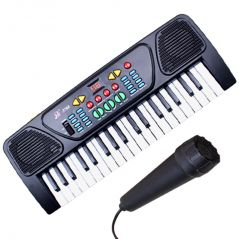 Kids piano Synthesizer with mic musical toy keyboard new special gift (Code - JM NR TY 30)