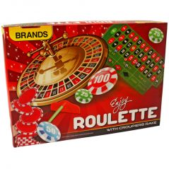 Roulette with Croupier Rake Kids Educational Toys Toy Kids Game - N57