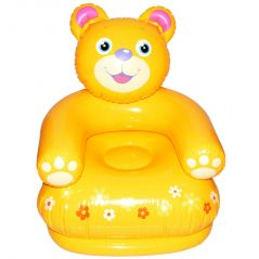 Intex Air Teddy Bear Inflatable Chair Birthday Gift Kids Children Baby Toy (Code - JM NR TY 63)