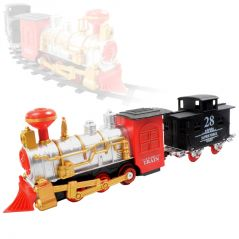 Train Set With Motor Functions Building Blocks Kids Toy Gift Sound (code - NR TY 71)
