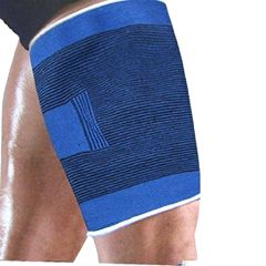 2 X Thigh Support Guard Brace Sports Injuries Gym Protect Exercise (Code - JM TH ST 01)