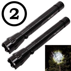 2 Pieces 5W Mini Battery Operated Waterproof LED Torch Lamp Flashlight Light (Code - JM TR CH 12)