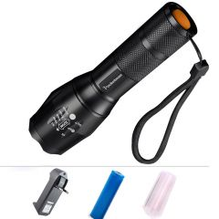 CREE Rechargeable LED Waterproof Flashlight Flash Light Torch - 67