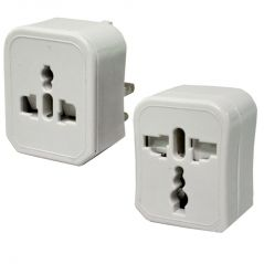 All-in-One UK / US / AU / EU Plug Universal Travel Adapter 250V 2200W 10A Max (Code - UN AD 03 A)