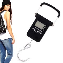 Portable 40KG Digital Luggage Fish Hook Hanging Weight Weighing Scale (Code - JM WG SL 21)