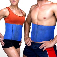 Belly Tummy Slimming Waist Trimmer Belt Back Support Weight Loss Fat Burner (Code - JM WT TR 02)