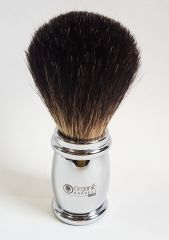 Organic Harvest Pure Badger Hair Shaving Brush Chrome Stainless Steel Han