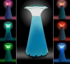 New Style LED Colorful Night Light / Festival Gifting Lamp   Speaker -ETLED-18K