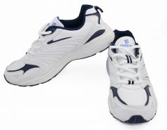 Shop or Gift Fuzion Running Sports Shoes White / Navy / Royal BP-04 A Running Shoes Online.