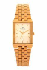 Titan - 1918ym08 Men's Watch Gold Metal ( 1918yab) - Titan Watches