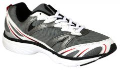 Shop or Gift Admiral 2.0 Grey Black Red Sports Running shoes Online.