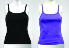 Ladies Sleeveless Sports Tank Top Tshirt Womens Sports Gym Wear Set of 2