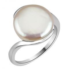 Surat Diamond 12.67cts Real Big Pearl & 925 Sterling Silver Ring for Astrological Power for All 12.67cts PSR