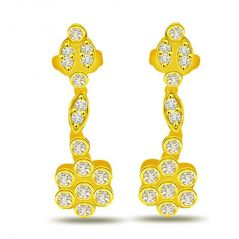Surat Diamond 0.56ct Diamond Hanging Earring ER225