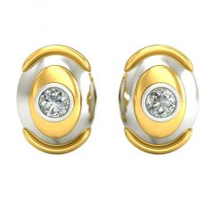 Surat Diamond 0.40ct Diamond Earring ER289