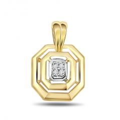 Surat Diamond Brilliant Diamond Pendant P375
