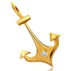 Surat Diamond Anchor of life - Pendant S311