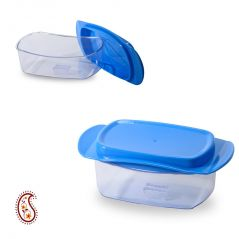 Butter storage container with secure grip