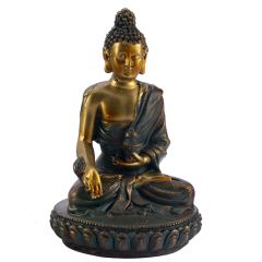 Charming Gold Finish Buddha Idol Showpiece