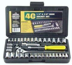 Shop or Gift 40 PC Socket Wrench Set Online.