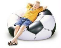 Shop or Gift Football Shape Beanless Bag Online.