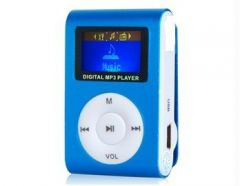 Shop or Gift HD Clip On MP3 Player With LCD Display Online.