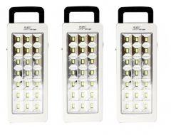 Shop or Gift Set Of 3 Dp 21 LED Emergency Light 5 Hrs Backup Online.