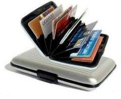 Shop or Gift Premium Original Data Secure Aluminum Indestructible Wallet Online.