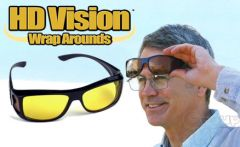 Shop or Gift HD Vision Wraparound Sunglasses Day And Night Driving Online.