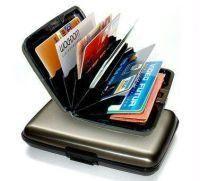 Shop or Gift Set of 2 Iwallet Data Secure Aluminum Indestructible Wallet Online.