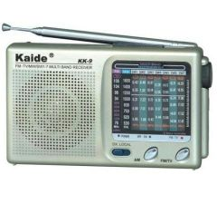 Shop or Gift Kaide FM/AM 9 Band Fm Radio Multi Band Online.