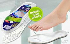Shop or Gift Memory Foam Shoes Insole Massager Online.