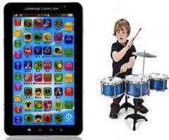 Shop or Gift P1000 Kids Educational Tablet With Jazz Drum Set Online.