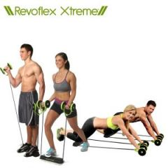 Shop or Gift Revoflex Xtreme Ultimate Excercise All In One Portable Home Gym Ab Cruncher Online.