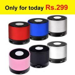 Shop or Gift Wireless Bluetooth Speaker Mini Portable Bass Speaker & Tf Slot Stereo Mic Online.