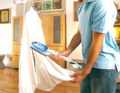 Shop or Gift Portable Hand Held Garment Travel Steamer Iron Online.