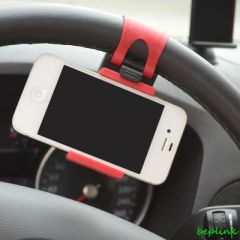 Shop or Gift Hands-free Multifunction Fitted Seat Car Steering Wheel Mobile Phone Holder Online.